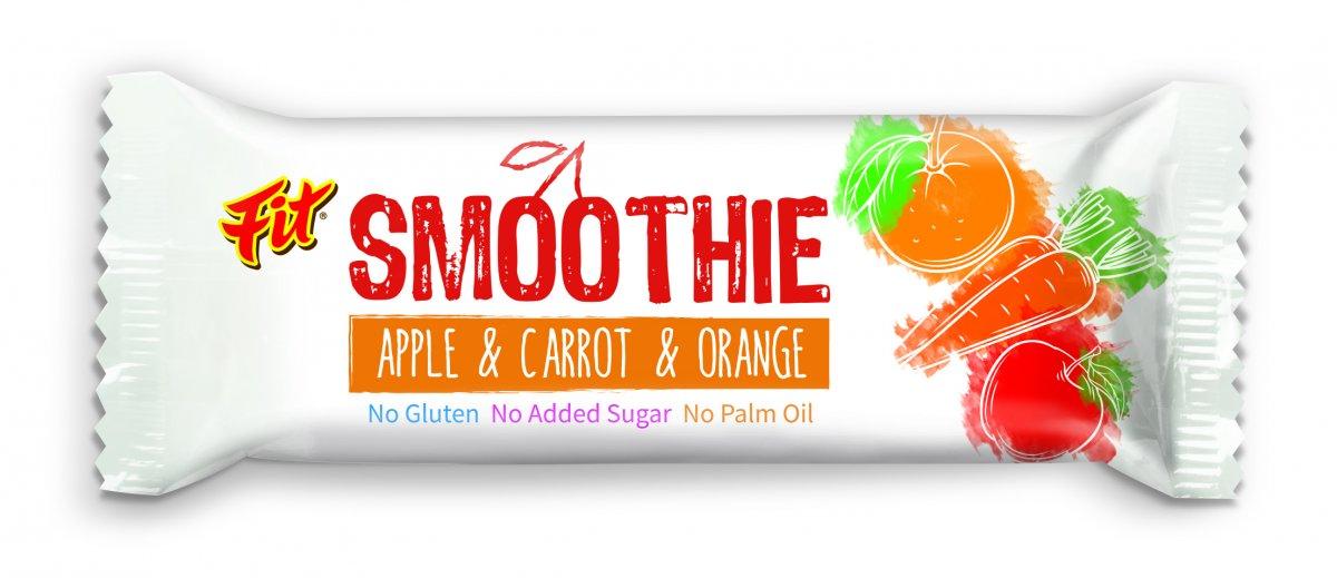 Fit smoothie jablko mrkev a pomeranč