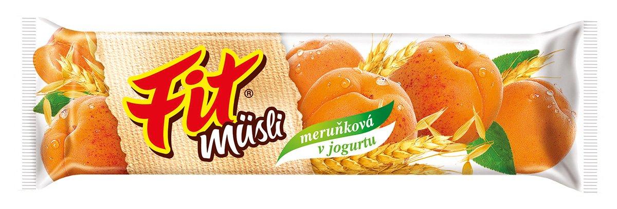 Fit müsli tyčinka Meruňková v jogurtu