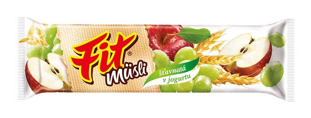 Fit müsli tyčinka Šťavnatá v jogurtu