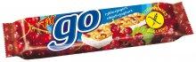 GO müsli tyčinka Rybíz s jogurtovou polevou